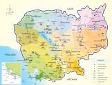 柬埔寨地图及金边高清地图