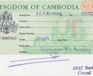 签证办理及价格